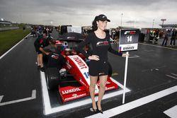 F2 grid girl for Sergey Afanasiev