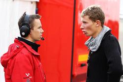 Kazim Vasiliauskas et James Goodfield, Ingénieur-chef fu championnat F2