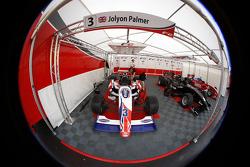 The car of Jolyon Palmer