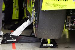 Paul Menards wagen in de garage