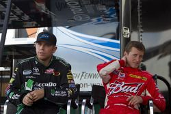 Brian Scott and Kasey Kahne