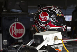 Kevin Harvick's helm