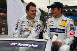 Gary Paffett, Team HWA AMG Mercedes C-Klasse et Bruno Spengler, Team HWA AMG Mercedes C-Klasse
