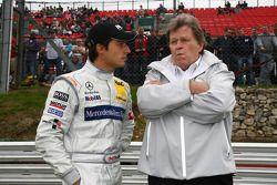 Bruno Spengler, Team HWA AMG Mercedes C-Klasse avec Norbert Haug