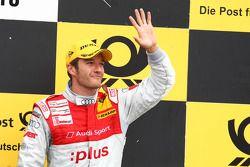 Podium: à la troisième place, Timo Scheider, Audi Sport Team Abt