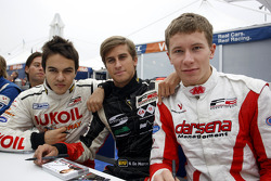 Sergey Afanasiev, Nicola de Marco and Kazim Vasiliauskas