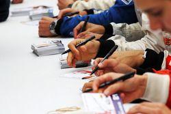 Formula Two autograph session