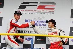 Podium: second place Vasilauskas, third place Sergey Afanasiev