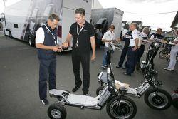 Dr. Mario Theissen get a new e-bikeboard