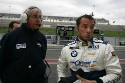 Stefano D'Aste Scuderia Proteam Motorsport BMW 320si after his crash in the Free Practice Session