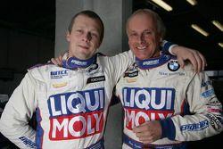 Andrei Romanov Liqui Moly Team Engstler BMW 320si et Franz Engstler Liqui Moly Team Engstler BMW 320si