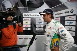 Augusto Farfus BMW Team RBM BMW 320si gives a interview