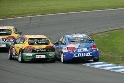 Jordi Gene SR-Sport Seat Leon 2.0 TDI and Robert Huff Chevrolet, Chevrolet Cruze LT