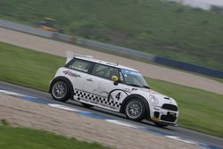 Cora Schumacher Wife of Ralf Schumacher drives MINI-Challenge