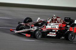 Helio Castroneves, Team Penske, Scott Dixon, Target Chip Ganassi Racing