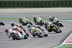Марко Симончелли, San Carlo Honda Gresini, и Рэнди де Пюнье, LCR Honda MotoGP
