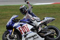 Jorge Lorenzo, Fiat Yamaha Team termine second