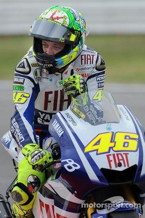 Valentino Rossi, Fiat Yamaha Team termine troisième