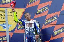 Подиум: третье место - Валентино Росси, Fiat Yamaha Team