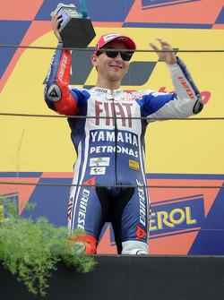 Подиум: второе место - Хорхе Лоренсо, Fiat Yamaha Team