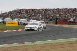 Au départ : Paul di Resta, Team HWA AMG Mercedes C-Klasse en tête