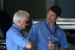 Herbie Blash, FIA Observer, Alan van der Merwe, Medical car driver
