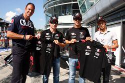 Тимо Глок и Лукас ди Грасси, Virgin Racing
