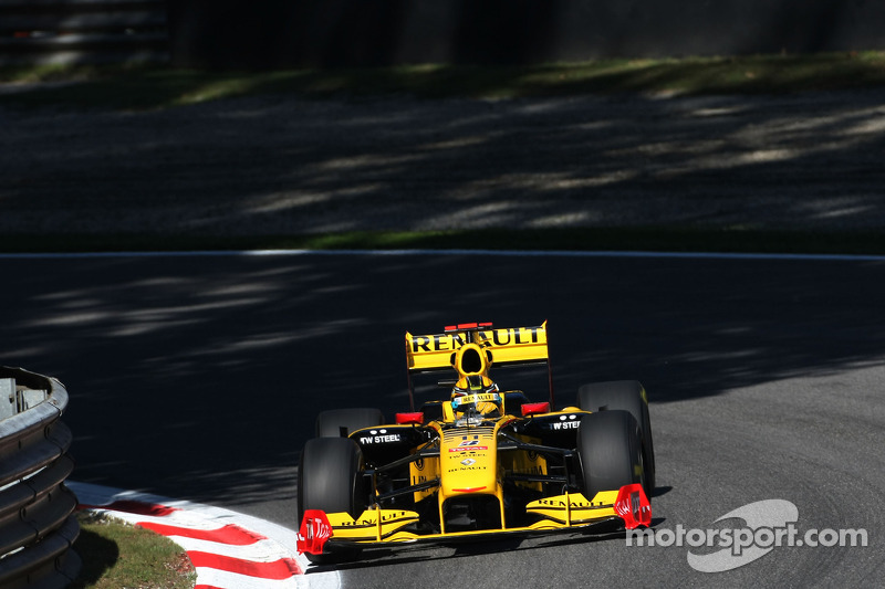 Robert Kubica, Renault F1 - Grand Prix Włoch 2010