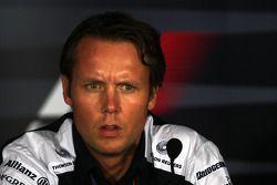 Conférence de presse du vendredi: Sam Michael, Williams F1 Team, directeur technique