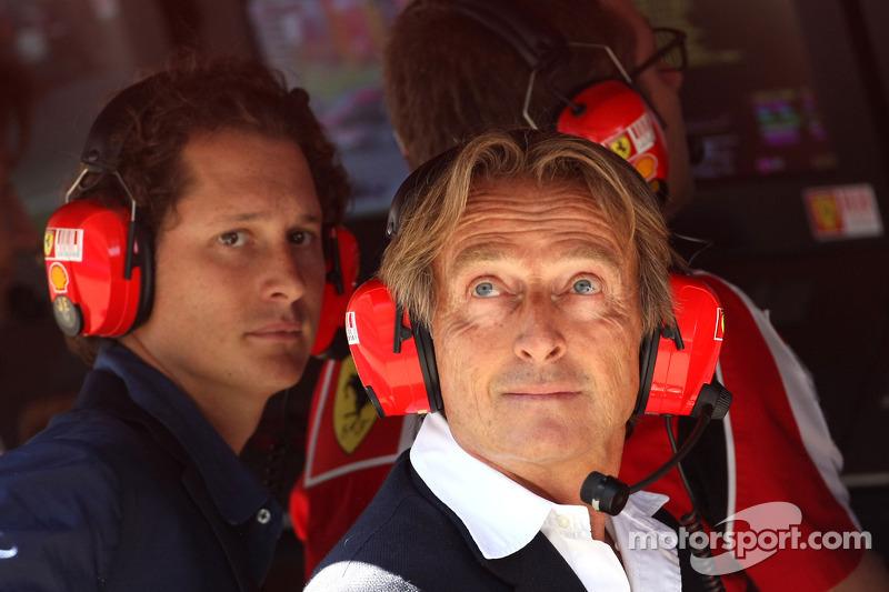 Luca di Montezemolo, Scuderia Ferrari, FIAT Yönetim Kurulu Başkanı ve Başkanı, Ferrari ve John Elkan