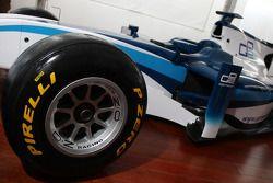 Lancement de la GP2 2011 sur pneus Pirelli