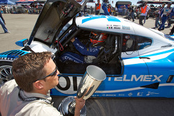 Scott Pruett in parc fermé