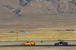#15 Multimatic Motorsports Mustang Boss 302R: Joe Foster, Scott Maxwell, #41 TRG Porsche 997: Steve