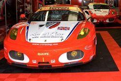 #91 CRS Racing Ferrari F430 GT: Andrew Kirkaldy, Tim Mullen