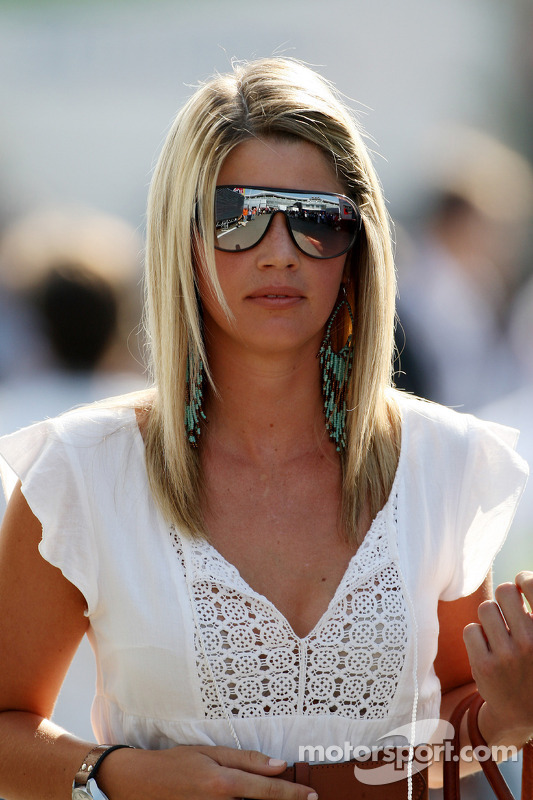 Isabell Reis, la compagne de Timo Glock