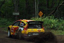 Petter Solberg et Philip Mills, Citroën C4 WRC, Petter Solberg Rallying