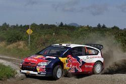 Daniel Sordo et Marc Marti, Citroën C4 Citroën Total World Rally Team
