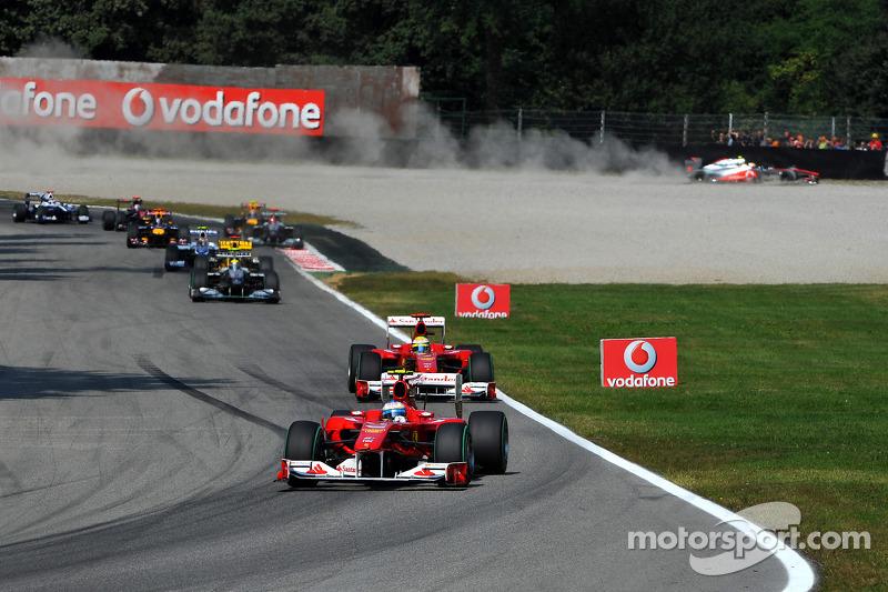Problemen voor Lewis Hamilton, McLaren Mercedes