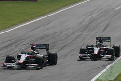 Sakon Yamamoto et Bruno Senna, Hispania Racing F1 Team HRT
