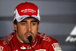 Post-race press conference: race winner Fernando Alonso, Scuderia Ferrari