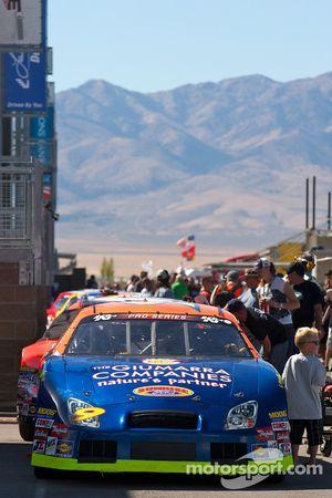 La voiture de Patrick Long en pole position