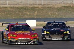 #43 Team Sahlen Mazda RX-8: Wayne Nonnamaker, Joe Nonnamaker, #70 SpeedSource Mazda RX-8: Jonathan B