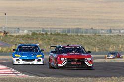#46 Autohaus Motorsports Camaro GT.R: Jordan Taylor, Johnny O'Connell, #40 Dempsey Racing Mazda RX-8: Charles Espenlaub, Joe Foster