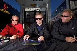 Hurley Haywood, David Donohue en Darren Law