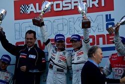 #1 Team Peugeot Total Peugeot 908 HDi-FAP: Anthony Davidson, Nicolas Minassian