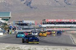 Formatieronden: #6 Stevenson Motorsports Camaro GS.R: Matt Bell, Jeff Bucknum