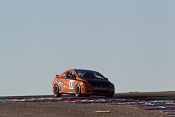 #77 Compass360 Racing Honda Civic SI: Gregory Liefooghe, Carlos Tesler-Mabe