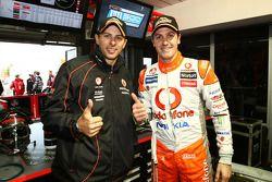 Jamie Whincup en Steve Owen pakken pole voor de L&H 500 bij de Phillip Island, #1 TeamVodafone