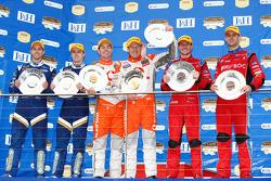 Mark Winterbottom, Luke Youlden, #5 Ford Performance Racing seconds, Craig Lowndes, Mark Skaife, #888 TeamVodafone premiers et Jason Richards, Andrew Jones, #8 Team BOC troisièmes