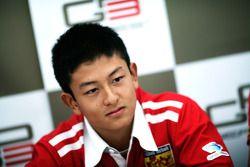 Rio Haryanto in the press conference